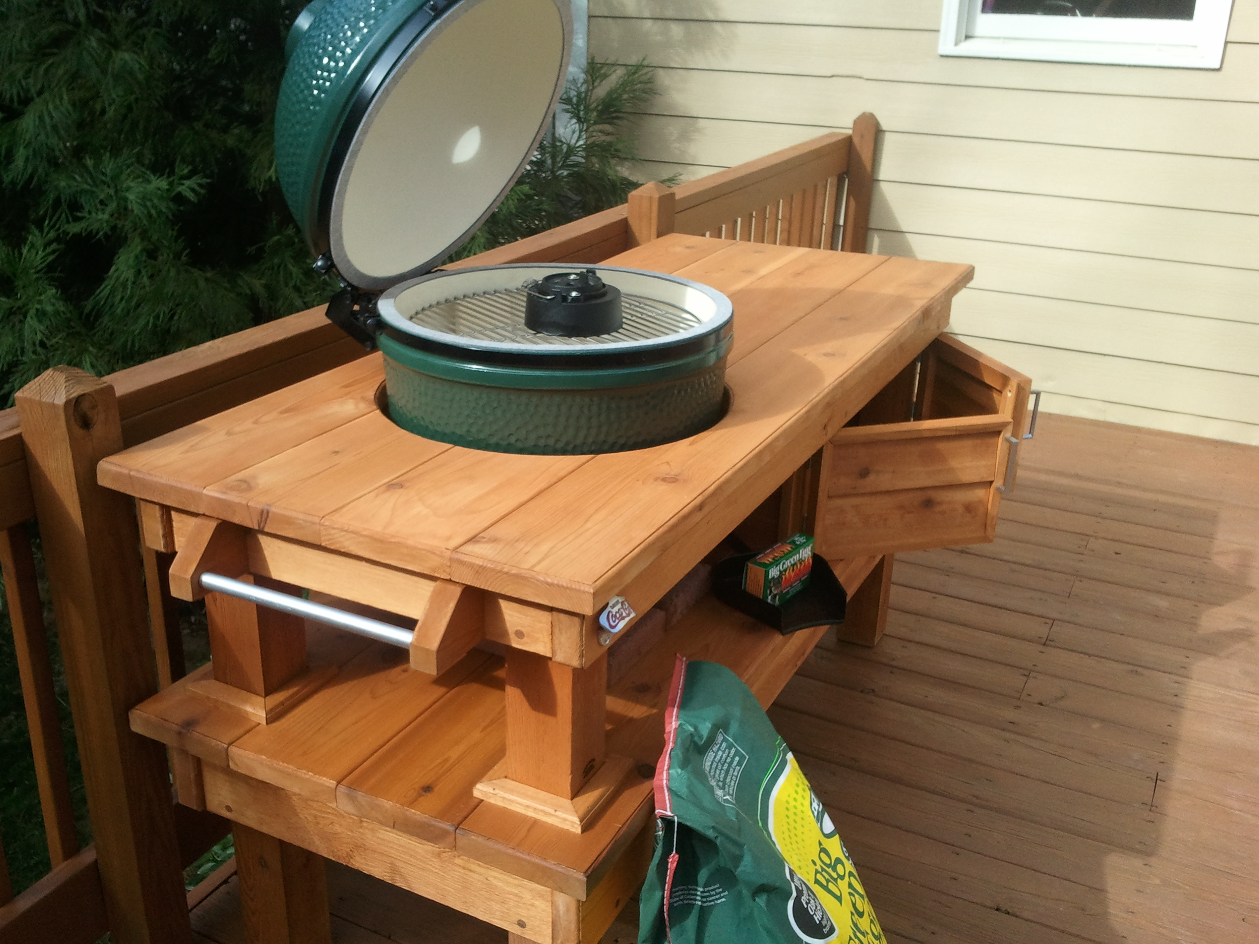 DIY Big Green Egg Table Plans Ideas Download Full Over Full Bunk Beds With  Stairs | False28fdc